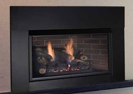 Magnificent Monessen Vfi33Lpv Solstice 33 Vent Free Propane Fireplace Insert Up To 27 000 With 135 Cfm Blower Mesh Screen Millivolt Control And Expansive Viewing Home Interior And Landscaping Ponolsignezvosmurscom