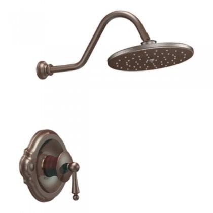 Moen TS312ORB Waterhill Posi-Temp Shower Only in Oil Rubbed Bronze ...