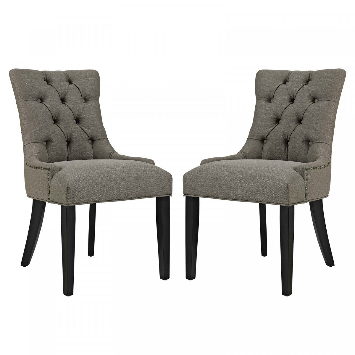 Modway Regent Granite Fabric Dining Side Chair