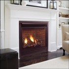 "Majestic 500DVMNSC 42"" R / T Vent Convertible DV Fireplace  Signature Command Control  Natural Gas"