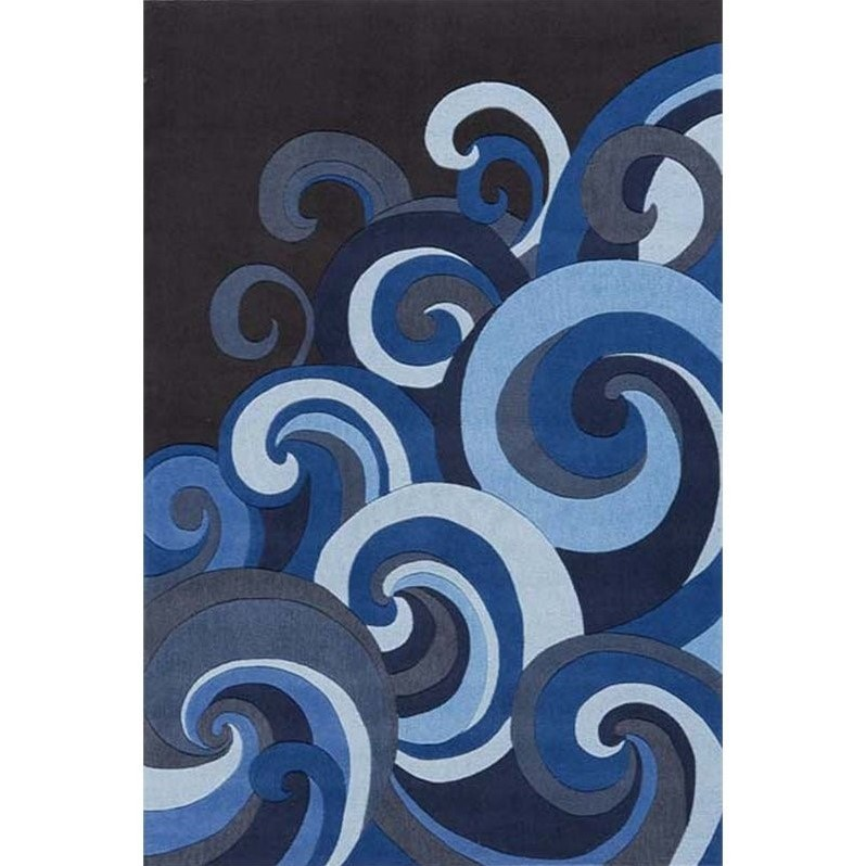 Momeni Lil Mo Hipster 3 X 5 Rug In Surf