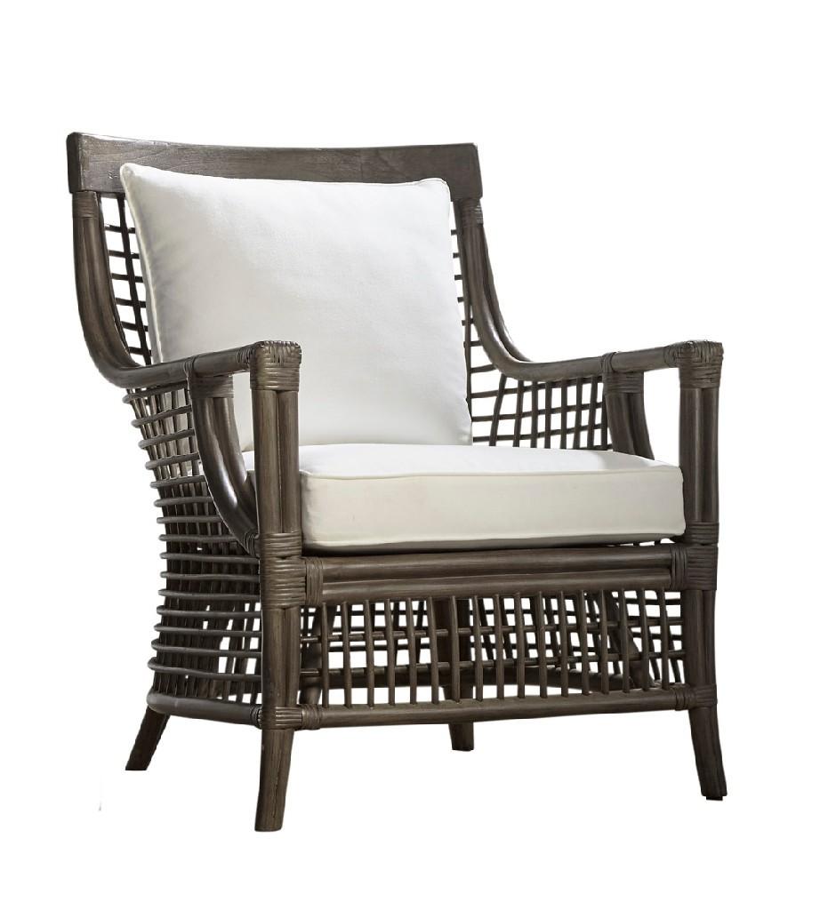 Panama Jack Millbrook Lounge Chair With Cushions In Kubu