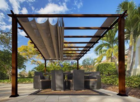 pergola aluminum, paragon outdoor florence pr16wd2c 11' x 16' aluminum pergola with, Design ideen