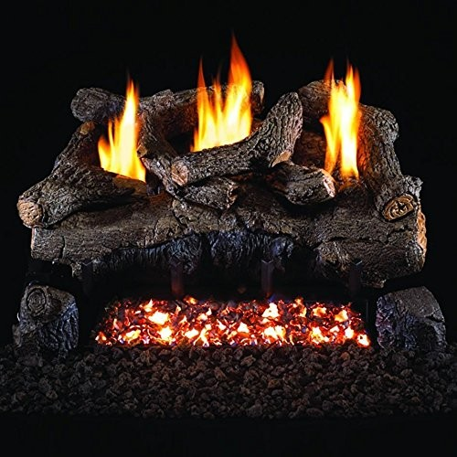 Peterson Real Fyre 30 Inch Evening Fyre Charred Log Set