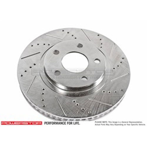 Power Stop JBR1702XPR Drilled and Slotted Brake Rotor