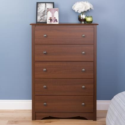 Prepac Monterey Collection CDC-3345 Chest with 5 Drawers ...