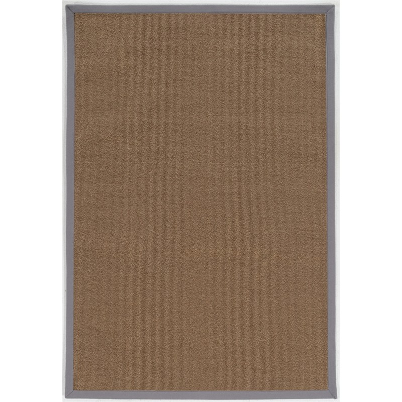 Brown And Slate Blue Living Room: Riverbay Furniture 2' X 3' Accent Rug In Brown And Slate