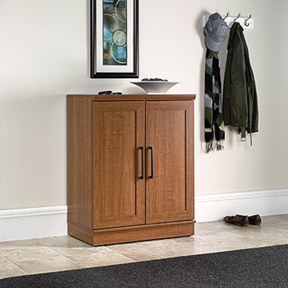 Sauder Homeplus Base Cabinet in Sienna Oak Finish ...