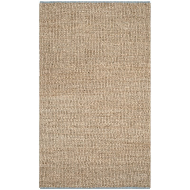 Safavieh Cape Cod 6 X 9 Hand Woven Jute And Cotton Rug