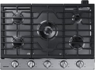 "Samsung NA30K6550TS 30"" Gas Cooktop with 5 Sealed Burners  Illuminated Knobs  Aluminum Griddle and Wifi  in Stainless Steel"