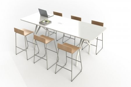 Scale HSTHGL X X H Hotspot Table Height Conference - 36 x 96 conference table
