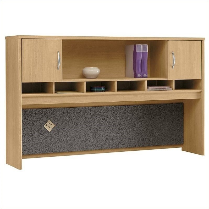 Scranton Amp Co 72w 2 Door Hutch In Light Oak Discount Bandit