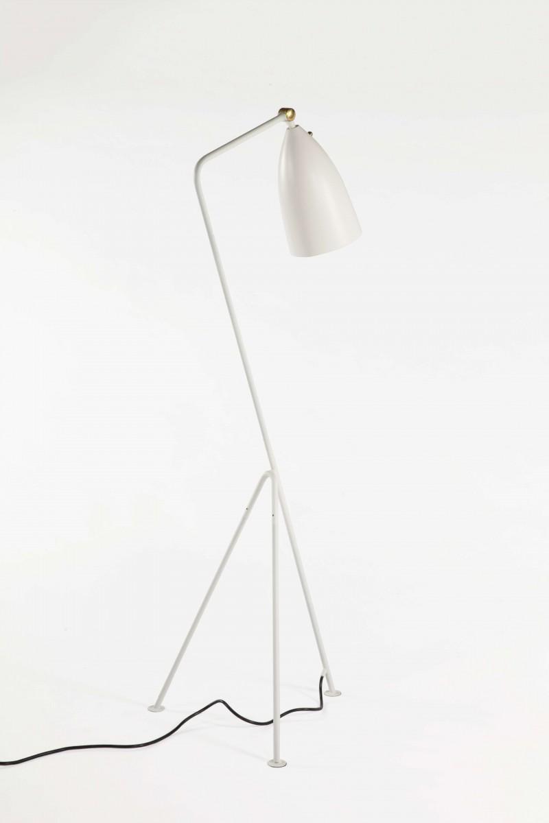 stilnovo grasshopper white floor lamp