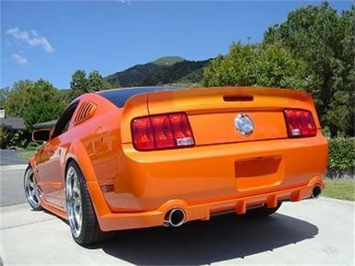 STREET SCENE Louver: 2005 Ford Mustang; Side Window