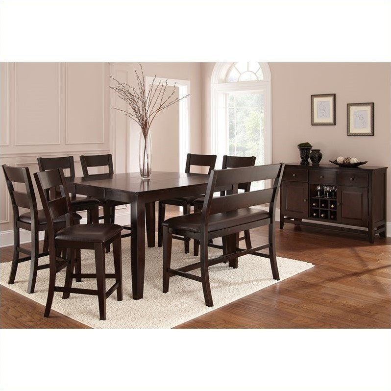 Steve Silver Company Victoria 8 Piece Counter Height