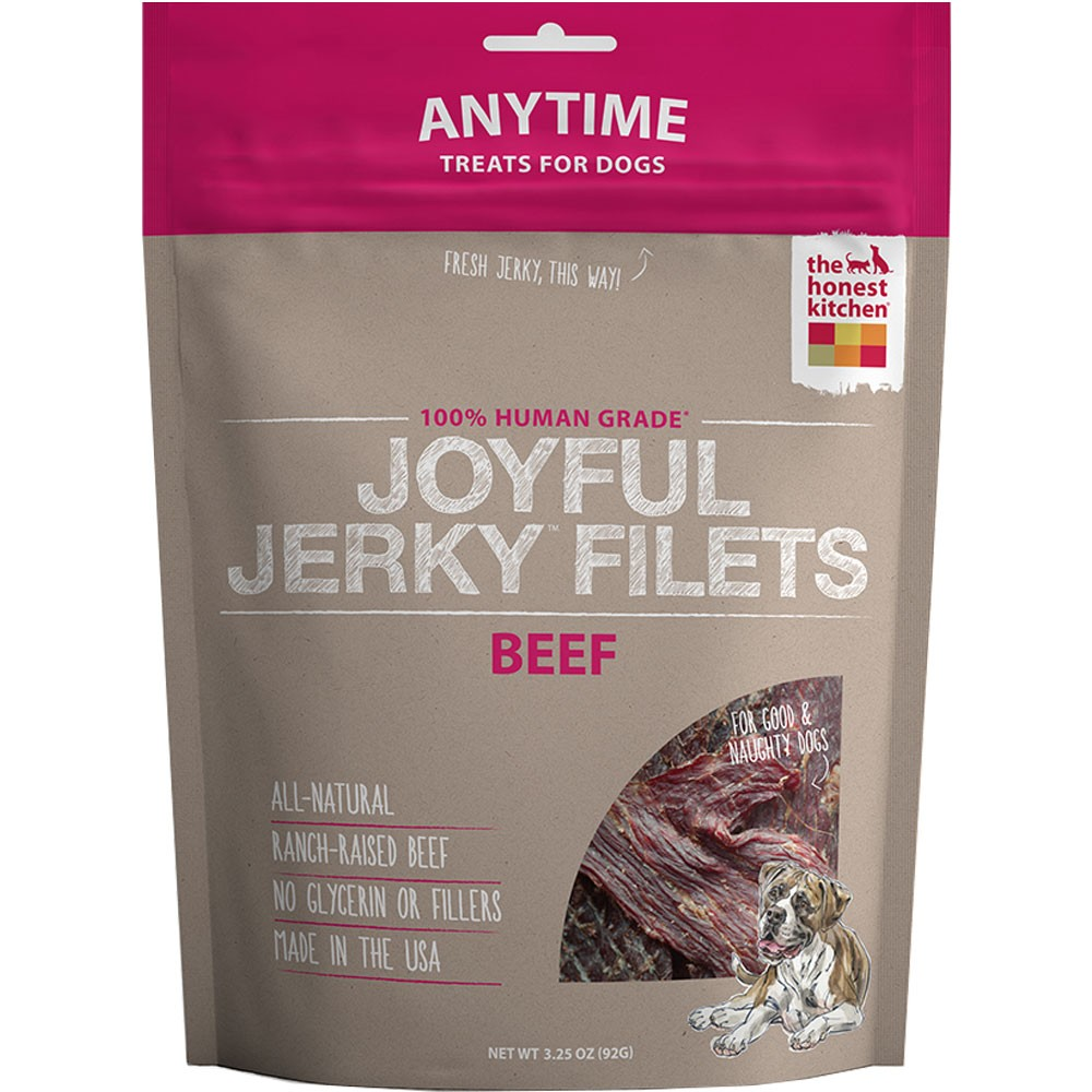Honest Kitchen Joyful Jerky Filets Beef (3.25 Oz