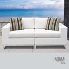TK Classics MIAMI-02a Miami 2 Piece Outdoor Wicker Patio Furniture Set 02a