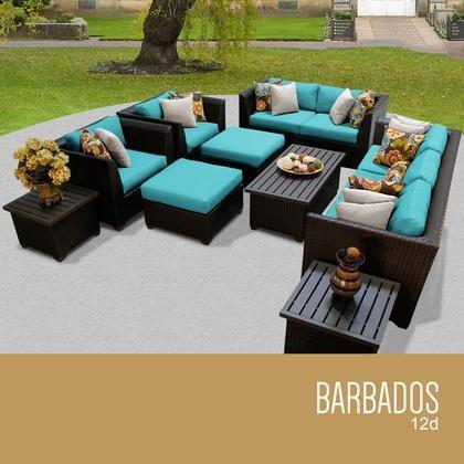 tk classics barbados 12d aruba barbados 12 piece outdoor wicker rh discountbandit com aruba patio furniture collection Walmart Patio Furniture