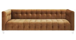 TOV Furniture TOV-S109 Bea Cognac Velvet Sofa