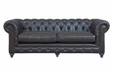 TOV Furniture TOV-S115 Durango Antique Brown Leather Sofa