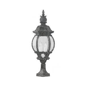 Trans Globe 4072 Swi 4 Light Post Lantern In Swedish Iron