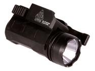 UTG Tactical Compact Pistol Flashlight, 120-Lumen CREE Q5 LED, Quick-Detach Weaver/Picatinny Mount