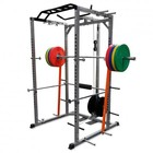 Valor Athletics BD-33 Heavy Duty Power Cage in Pewter/Black