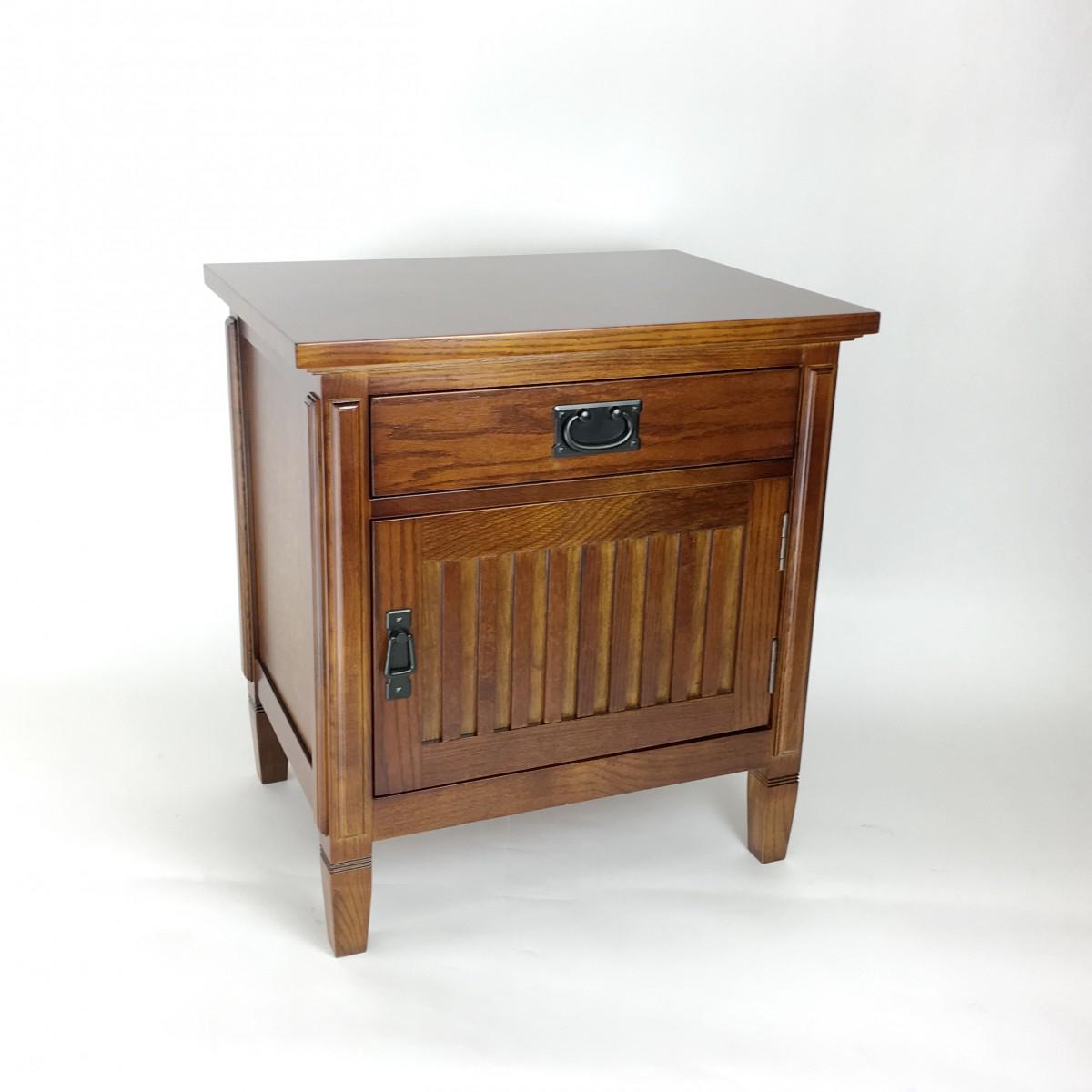 Wayborn Home Furnishings Oak Night Stand