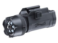 Walther Night Force Flashlight & Laser, Integral Weaver/Picatinny Mount