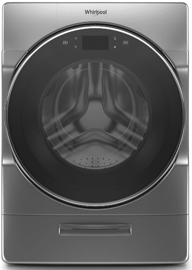 Whirlpool 4 5 cu ft  Chrome Shadow Front Load Washer/Dryer Combo