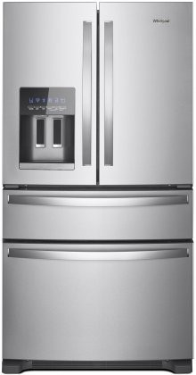 Whirlpool Wrx735sdhz 36 Quot French Door Refrigerator With 24