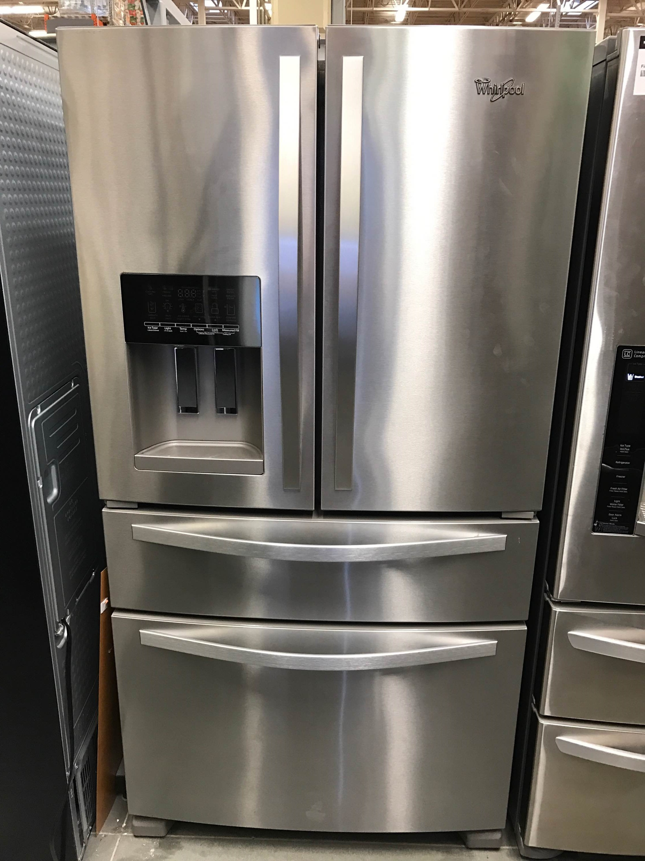 Whirlpool 36 inch wide french door refrigerator with - Whirlpool discount ...