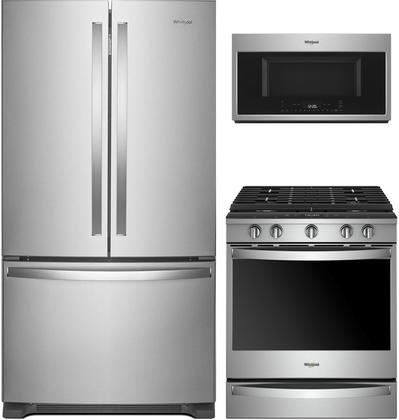 Whirlpool 3 Piece Kitchen Appliance Package With