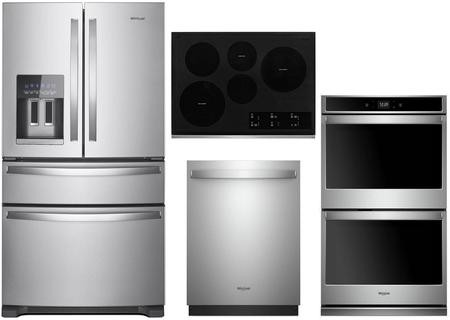 Whirlpool 4 Piece Kitchen Appliance Package With