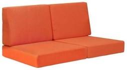 Zuo 703652 Cosmopolitan Sofa Cushion Orange